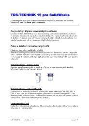 TDS-TECHNIK 15 pro SolidWorks