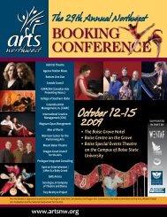 2009 Conf Prog FINAL.pdf - Arts Northwest!