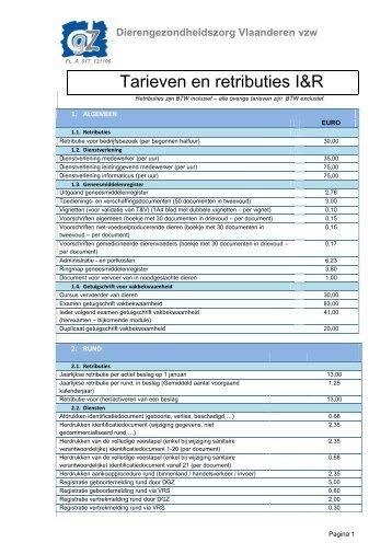 Dierengezondheidszorg Vlaanderen vzw