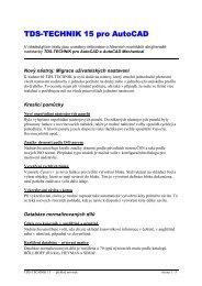 TDS-TECHNIK 15 pro AutoCAD