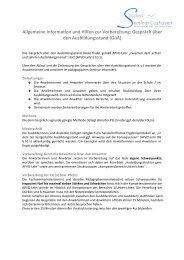 Gespräche über den Ausbildungsstand (GüA)