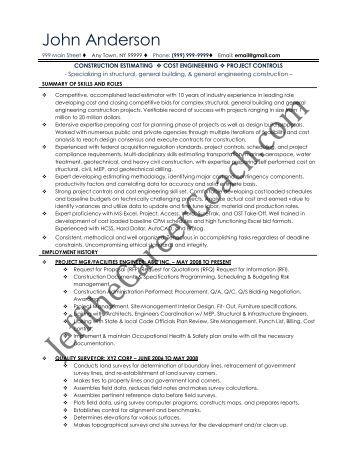 land surveyor resume examples sample cover letter for job