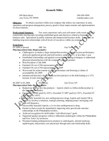 Download The Pharmaceutical Sales Resume Sample One In PDF.  Pharmaceutical Sales Resume Sample