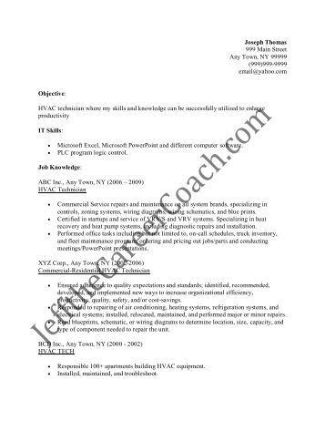 pdf sample resumes