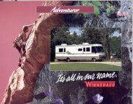 1994 Adventurer - Winnebago Motor Homes