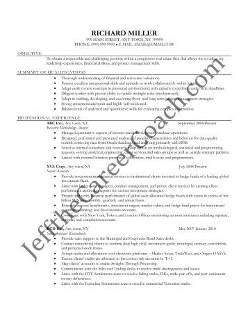 quantitative research analyst resume quantitative analyst resume