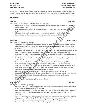 sample resume red seal recruiting