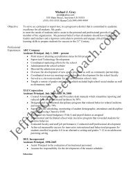Download The Assistant Principal Resume Sample One In Pdf