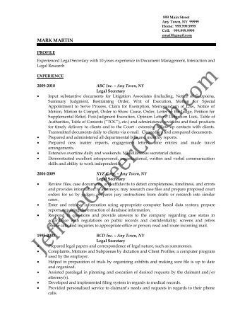 free legal of resume sample secretary legal cover letter resume downloads within cover letter for legal - Sample Cover Letters For Resume