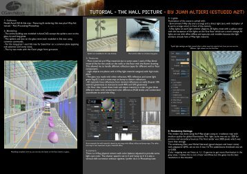 Tutorial - The Hall Picture - by Juan Altieri (estudio A2T)