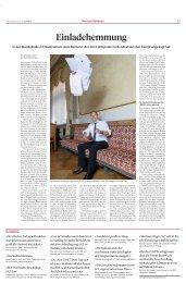 Einladehemmung: Mensch Lukas Reimann in der Sonntaszeitung