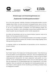 Ergänzenden Vermittlungsdokumentation - Fondsvermittlung24.de