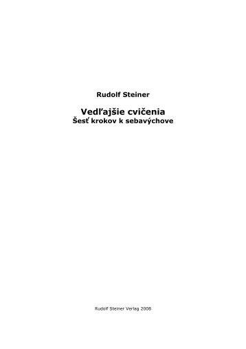 Vedľajšie cvičenia - Slovenská antropozofická spoločnosť
