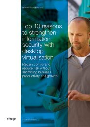 Top 10 reasons to strengthen information security with desktop ...