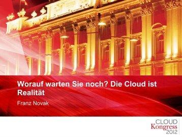 Franz Novak - CLOUDkongress