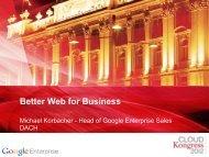 Better Web for Business - CLOUDkongress