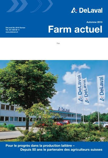 Farm actuel automne 2010 (PDF - 5060 KB) - DeLaval