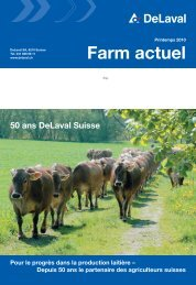 Farm actuel printemps 2010 (PDF - 3855 KB) - DeLaval