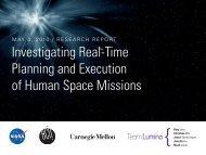 Spring Presentation - Human-Computer Interaction Institute