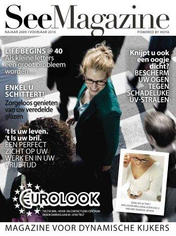 MAGAZINE VOOR DYNAMISCHE KIJKERS - Eurolook