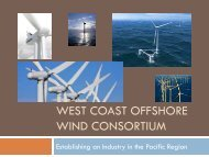 Pacific Offshore Wind Consortium - the Oregon International Port of ...
