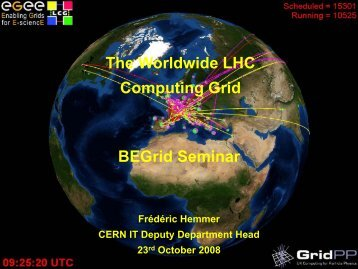The LHC Computing Grid - Frédéric Hemmer - CERN