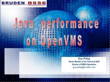 Make Java Perform on VMS