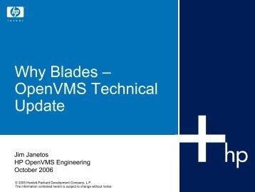 Why Blades