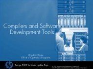 Compilers and Software Development Tools