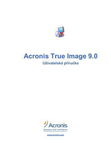 Příručka - Acronis