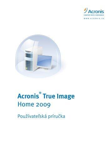 Acronis True Image 11.0 Home