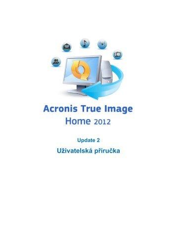 1.3 Aktivace aplikace Acronis True Image Home 2012