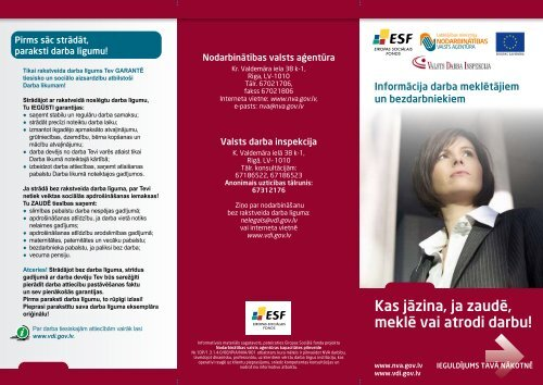 Å¡eit - Valsts Darba Inspekcija