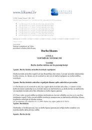 Darba likums - Valsts Darba Inspekcija