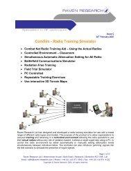 ComSim - Radio Training Simulator - JANADA