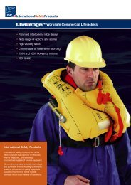 Worksafe Commercial Lifejackets - International Safety Products Ltd