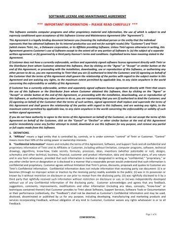 Sdl premium software maintenance agreement this software license and maintenance agreement tintri platinumwayz