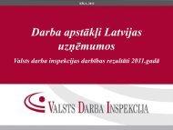 Prezentācija - Valsts Darba Inspekcija
