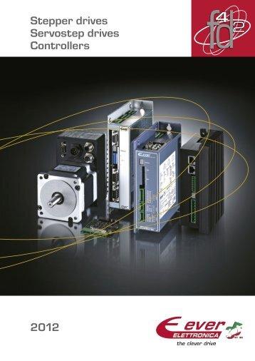Stepper drives Servostep drives Controllers 2012