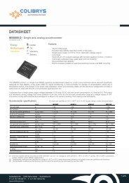SF1600S A – SF1600SN A / Single axis best in class