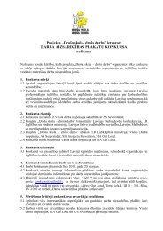 Konkursa nolikums - Valsts Darba Inspekcija
