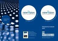 Veranstaltungen 2011 - New Vision GmbH