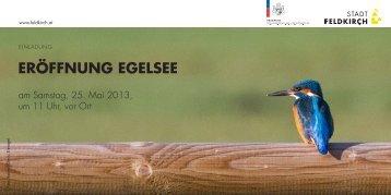 Eröffnung EgElsEE - fahrrad wettbewerb 2013