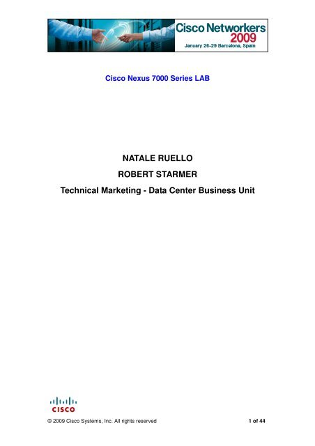 NATALE RUELLO ROBERT STARMER Technical     - Index of