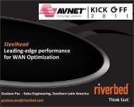 Who is Riverbed? - Tallard Technologies