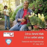 Zdrav krvni tlak Zdrav srčni utrip - Sekcija za arterijsko hipertenzijo