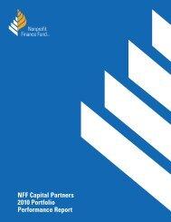 Capital Partners Performance Report - Nonprofit Finance Fund
