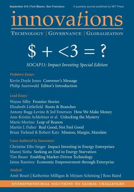 Innovations - Nonprofit Finance Fund