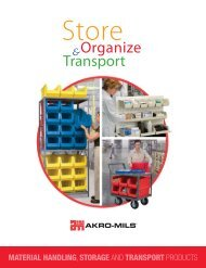 storage bins, racks & systems