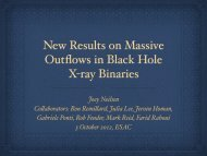 New Results on Massive Outflows in Black Hole X-ray Binaries